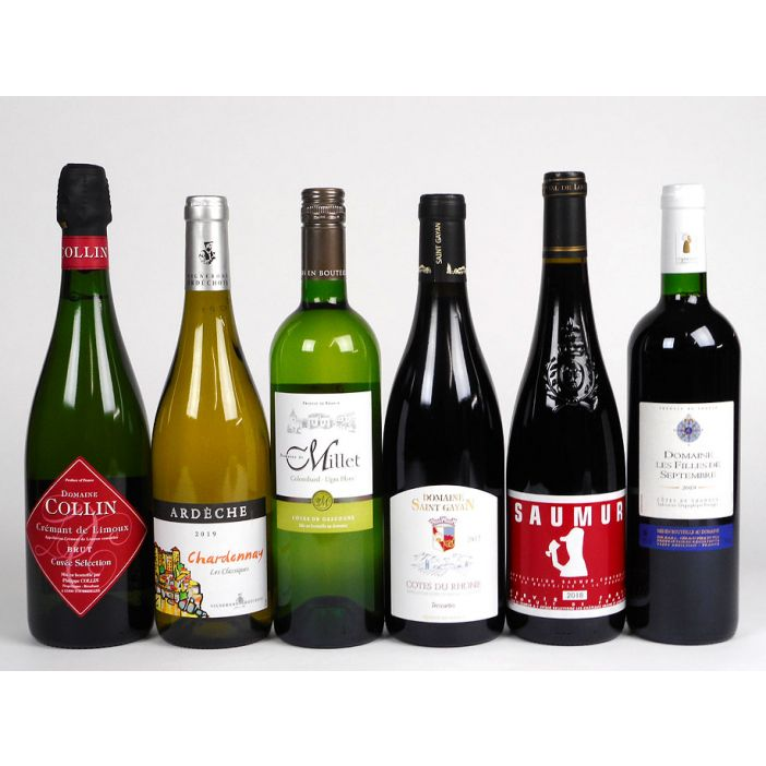 Yapp Brothers Six Bottle Sampler - Mixed Case Wine Offer
