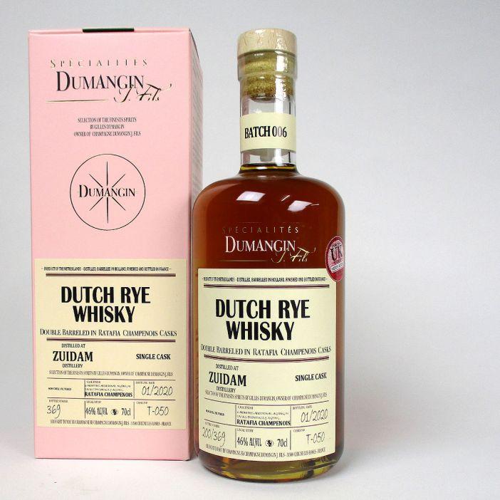 Zuidam Dutch Rye Whisky: Spécialités Dumangin