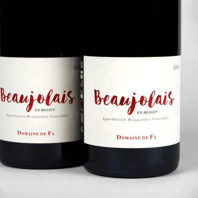 Beaujolais en Besset: Domaine de Fa 2018