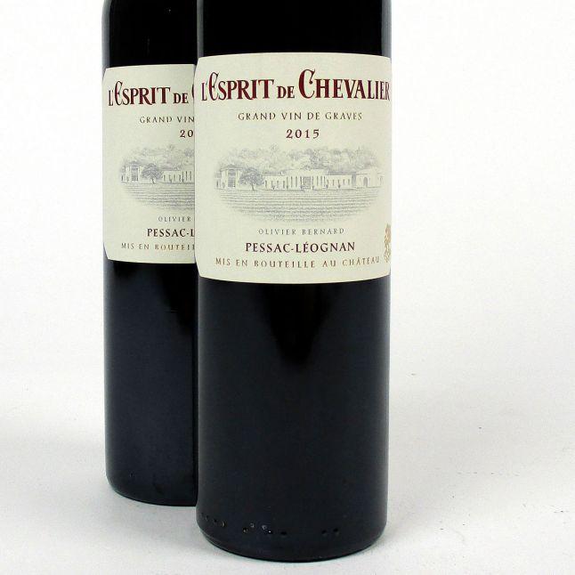 Bordeaux: Domaine de Chevalier 'L'Esprit de Chevalier' 2015