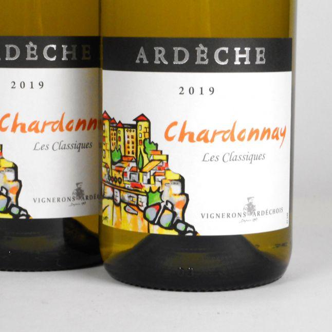 Coteaux de l'Ardèche: Cépage Chardonnay 2019