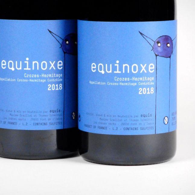 Crozes Hermitage: Domaine Equis 'Equinoxe' 2018