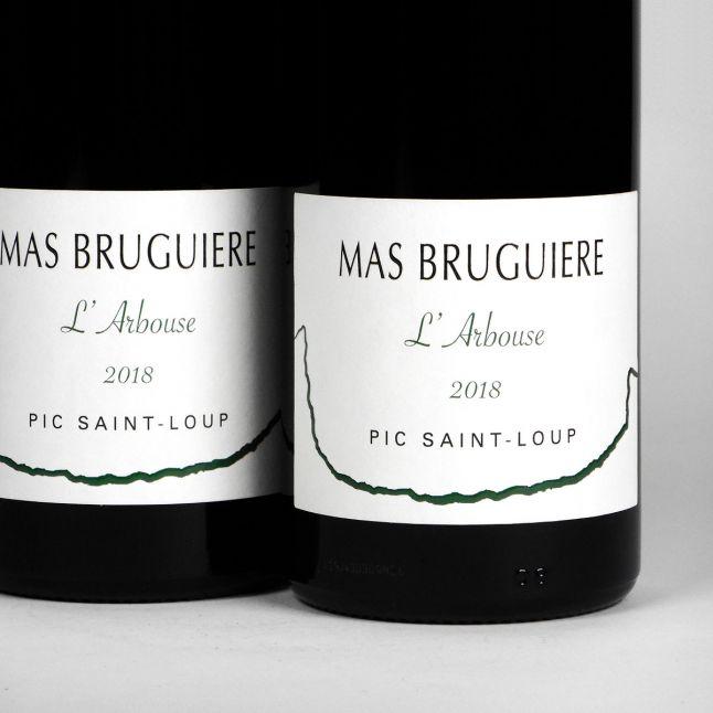 Pic Saint-Loup: Mas Bruguière 'l'Arbouse' 2018