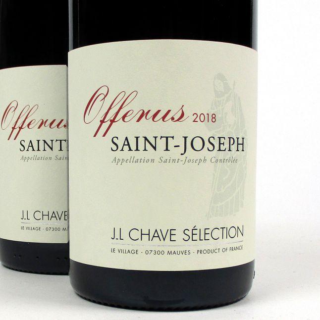 Saint-Joseph: Jean-Louis Chave Sélection 'Offerus' Rouge 2018