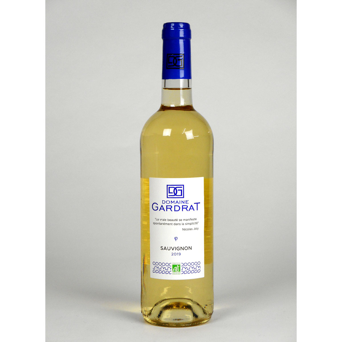 Domaine Gardrat: Vin de Pays Charentais Sauvignon 2019 - Bottle