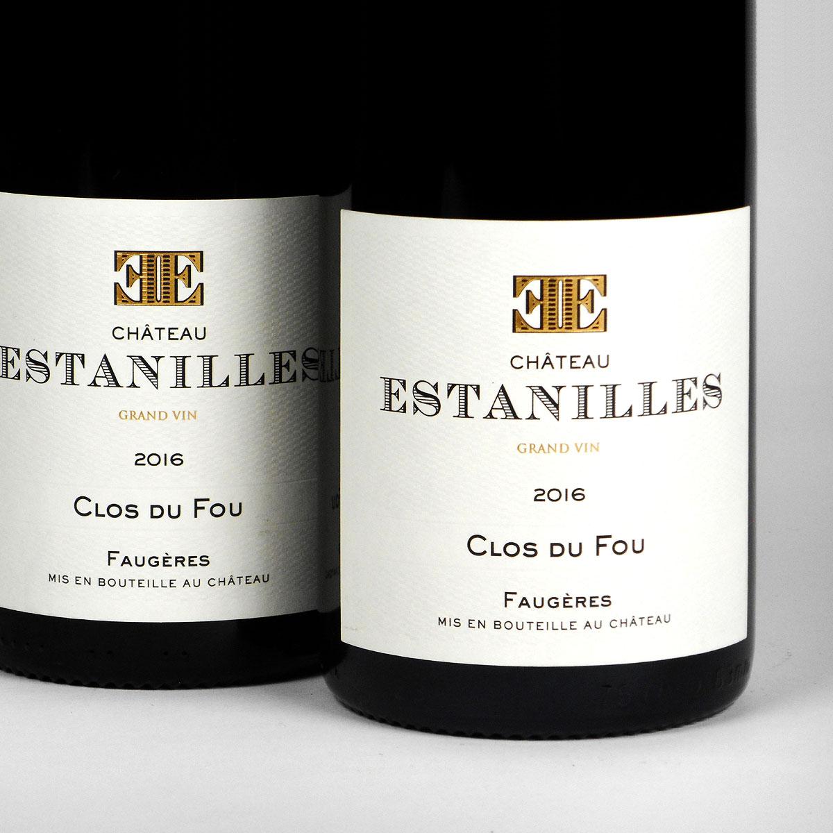 Faugères: Château Estanilles 'Clos du Fou' Rouge 2016
