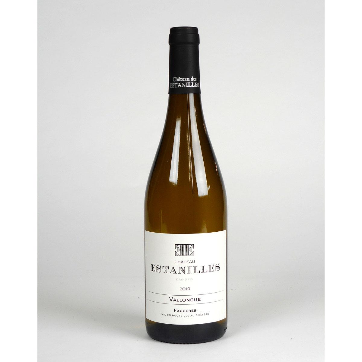 Faugères: Château Estanilles 'Vallongue' Blanc 2019 - Bottle