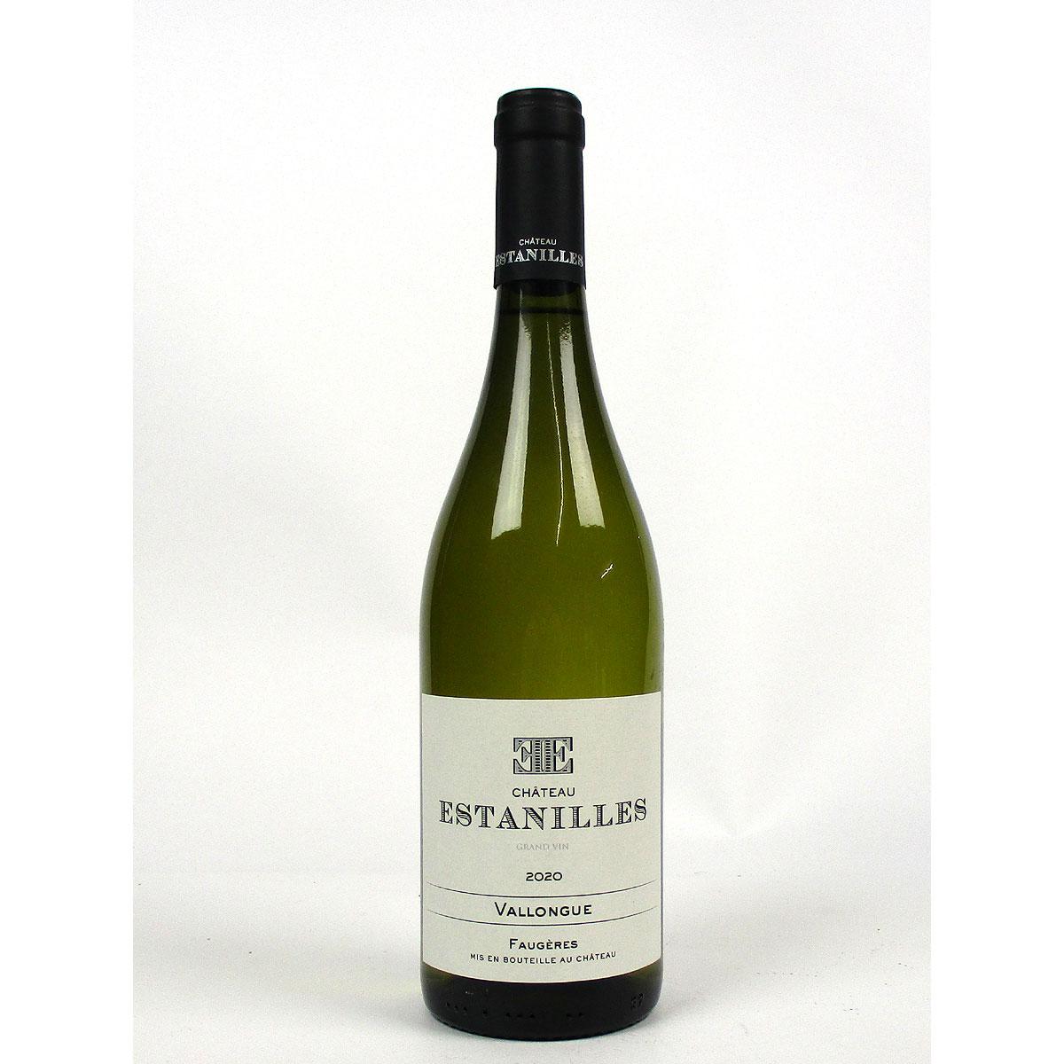 Faugères: Château Estanilles 'Vallongue' Blanc 2020 - Bottle