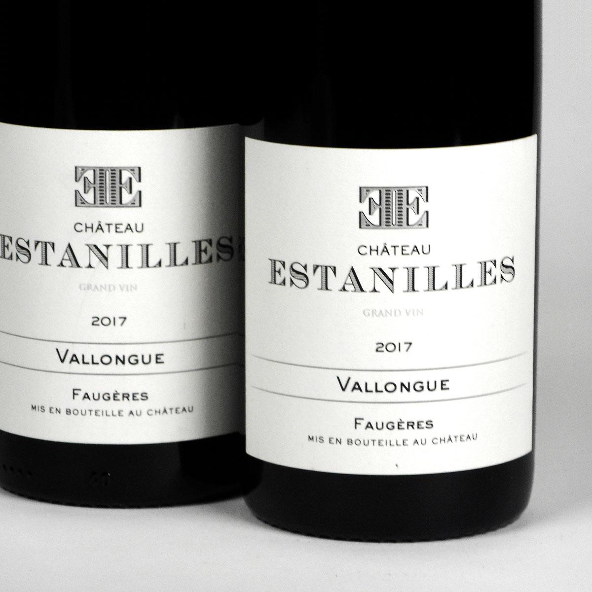 Faugères: Château Estanilles 'Vallongue' Rouge 2017