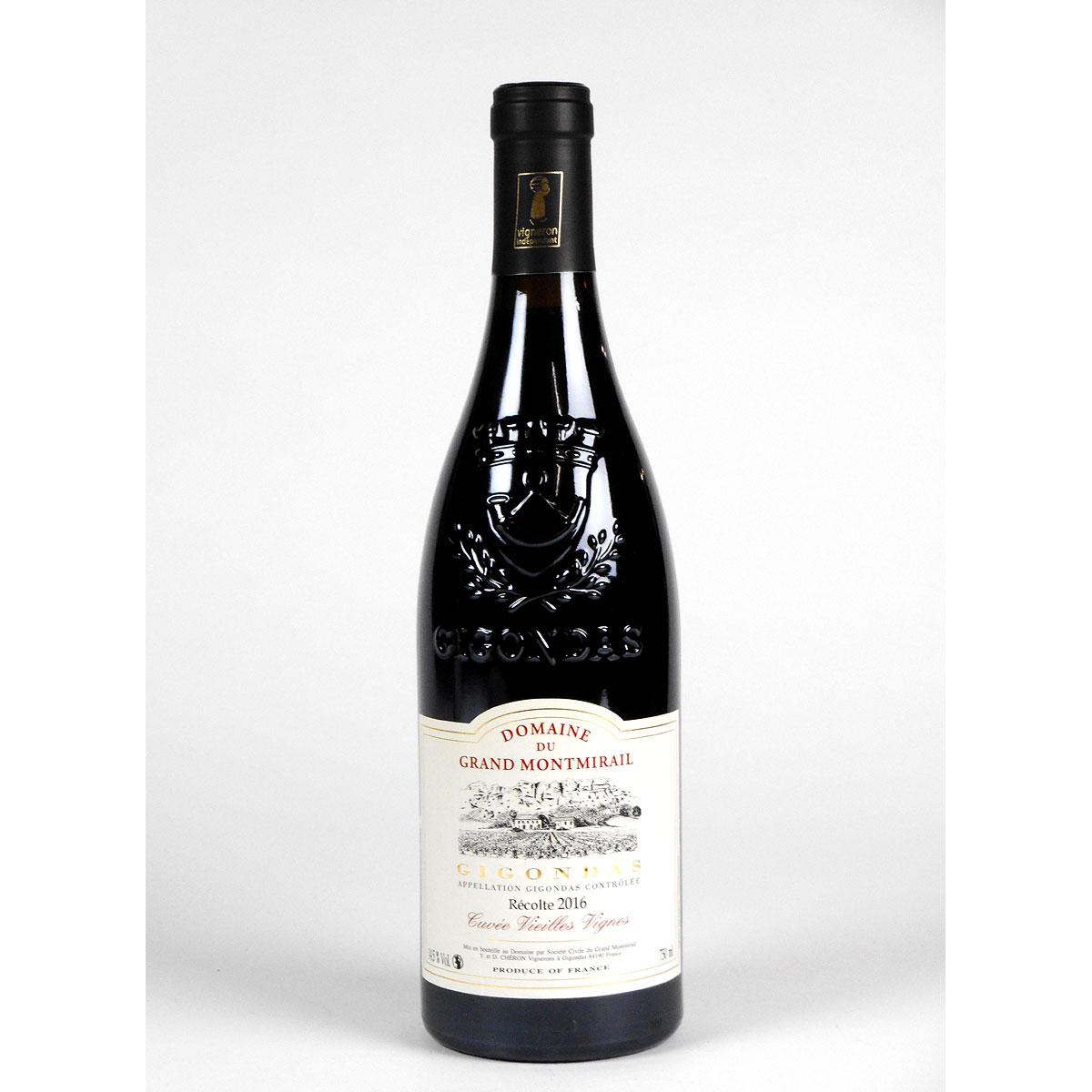 Gigondas:Domaine du Grand Montmirail 'Vieilles Vignes' 2016 - Bottle