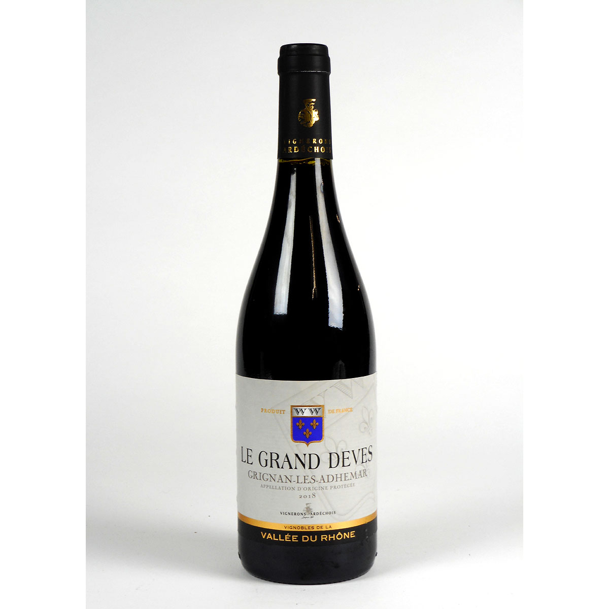 Grignan-Les-Adhémar: 'Le Grand Dèves' 2018 - Bottle
