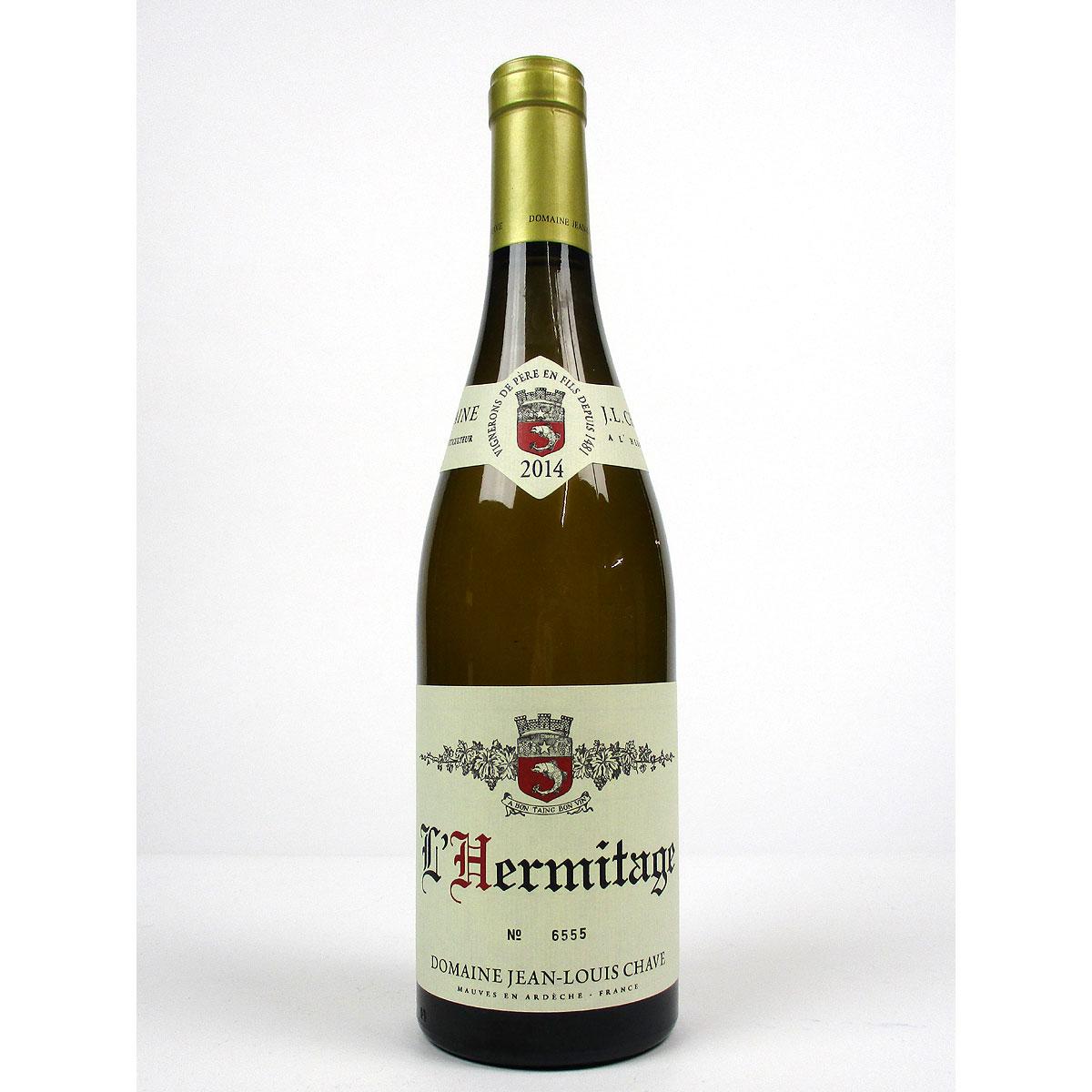 Hermitage: Jean-Louis Chave Blanc 2014 - Bottle