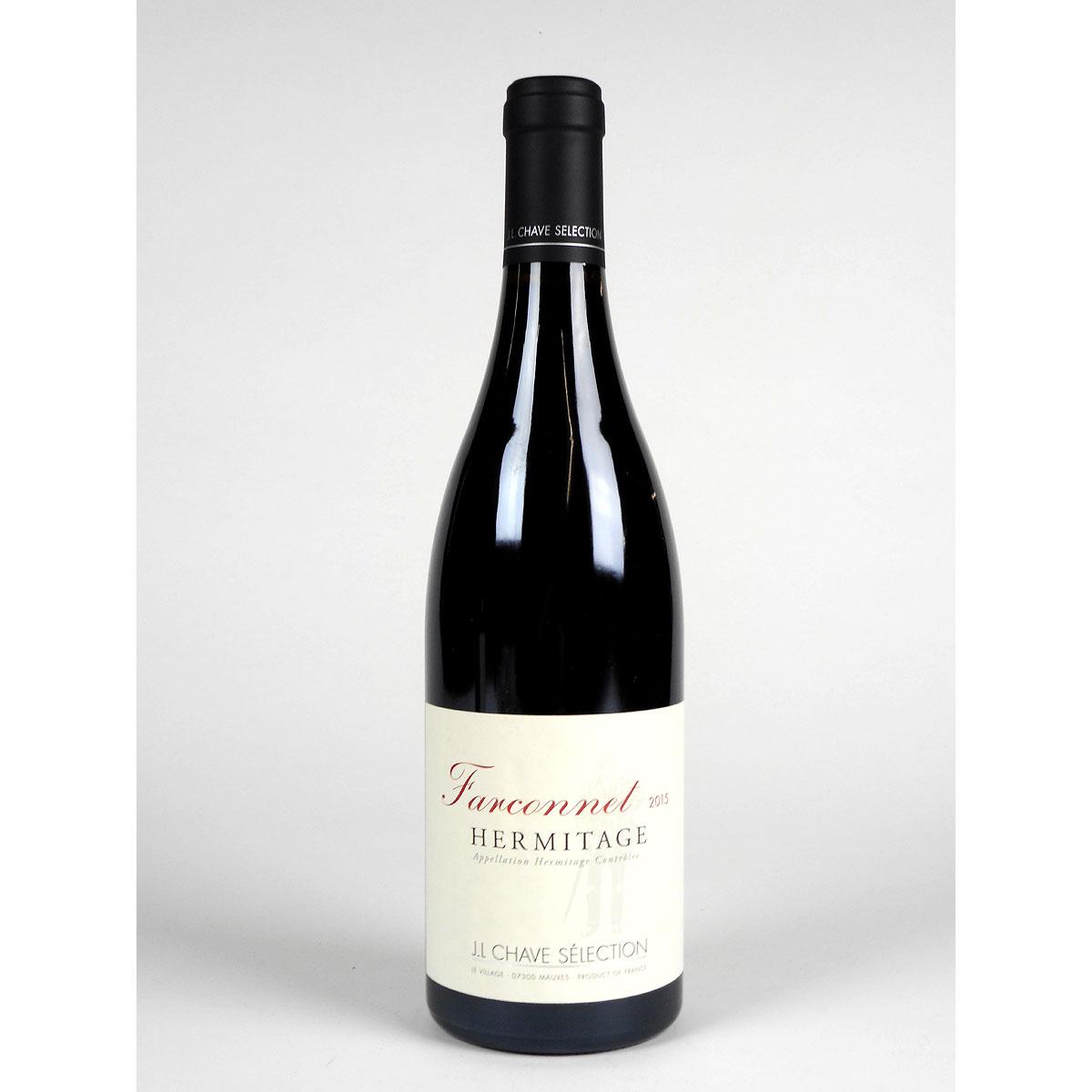 Hermitage: Jean-Louis Chave Sélection 'Farconnet' Rouge 2015 - Bottle