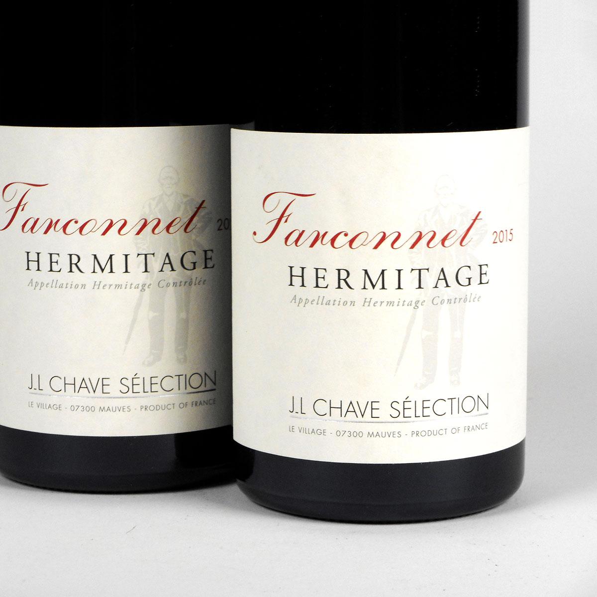 Hermitage: Jean-Louis Chave Sélection 'Farconnet' Rouge 2015