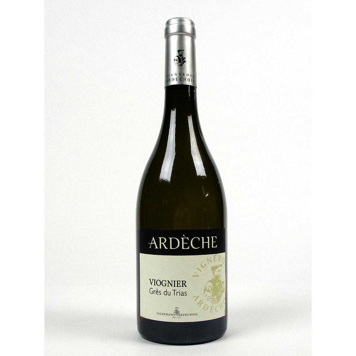 IGP Ardèche: Vignerons Ardéchois Viognier 'Grès du Trias' 2020 - Bottle