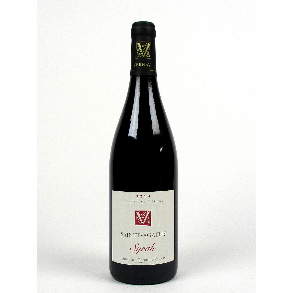 IGP Collines Rhodaniennes: Domaine Georges Vernay 'Sainte-Agathe' 2019 - Bottle