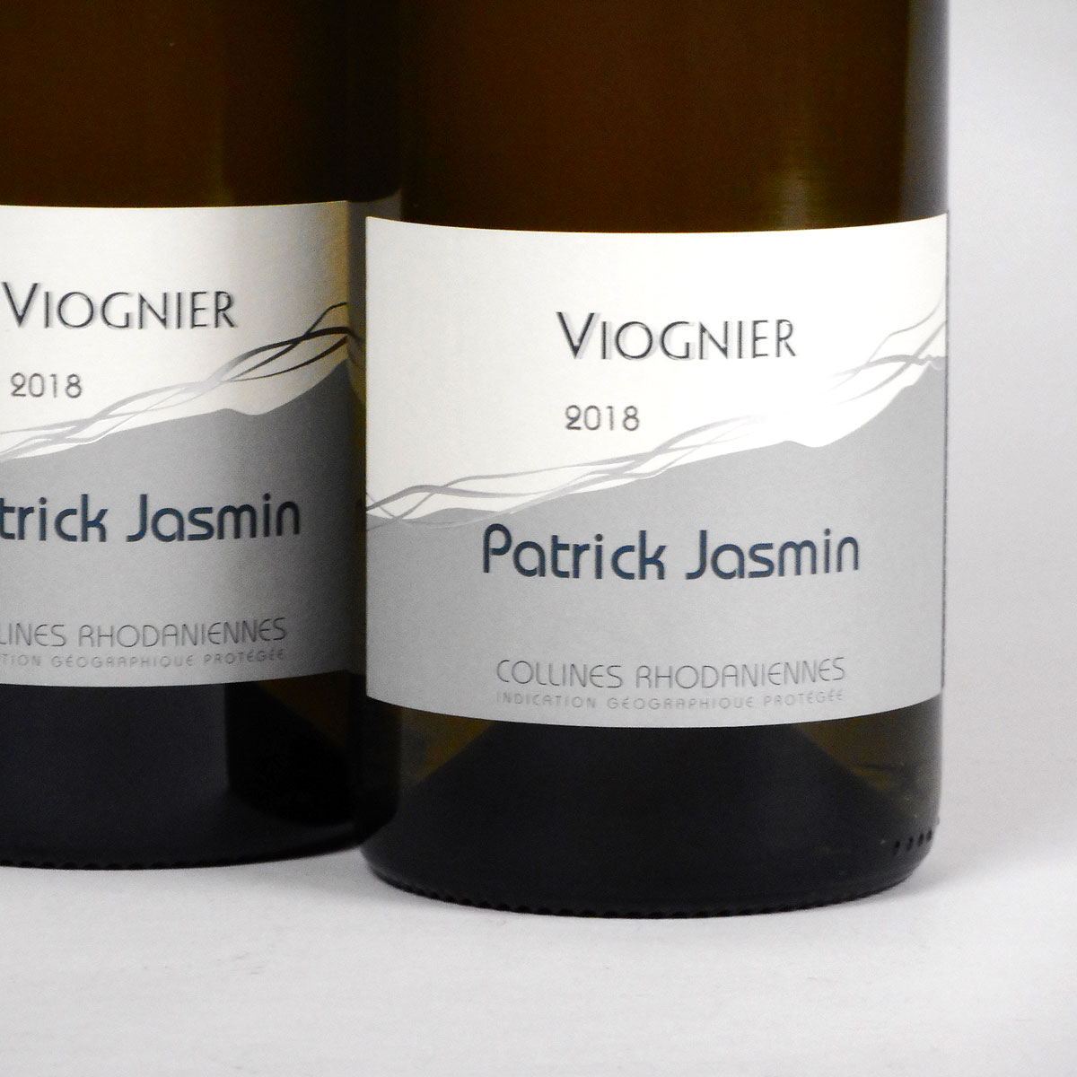 IGP Collines Rhodaniennes: Patrick Jasmin Viognier 2018