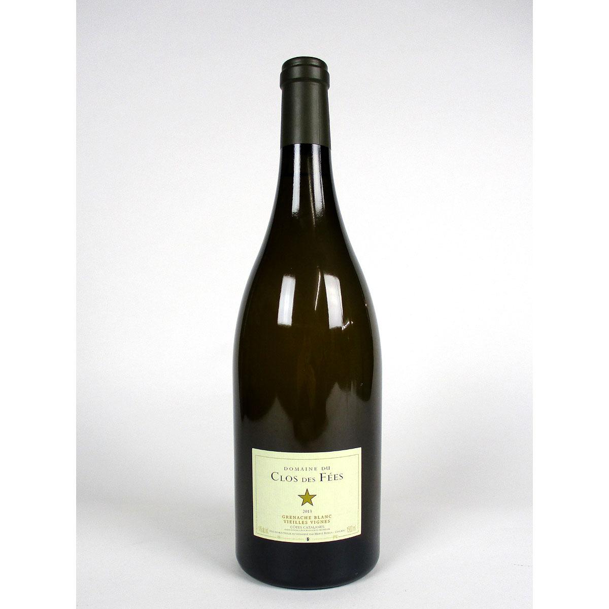 IGP Côtes Catalanes: Domaine du Clos des Fées 'Vieilles Vignes' Grenache Blanc 2013 - Bottle