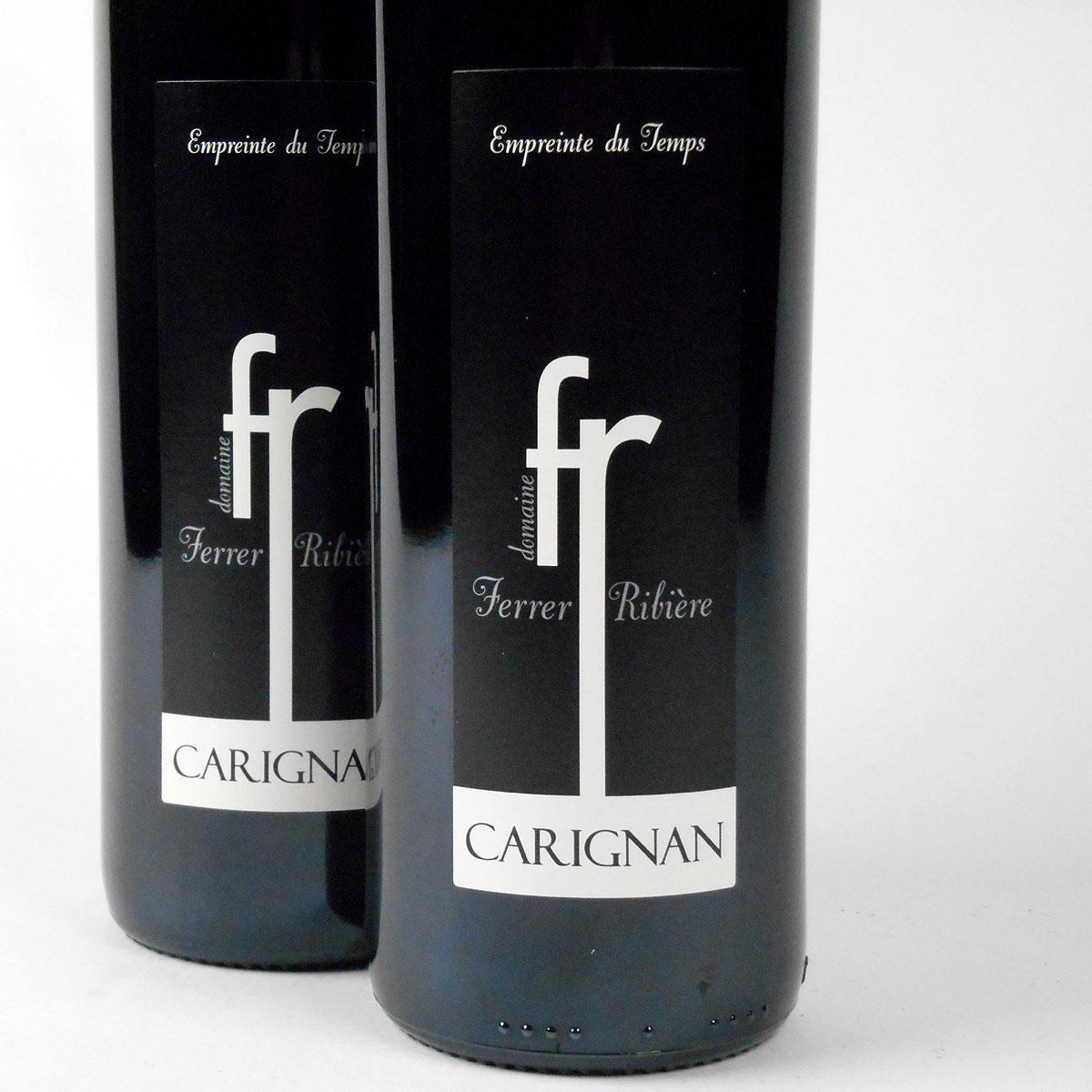 IGP Côtes Catalanes: Domaine Ferrer-Ribière 'Empreinte du Temps' Carignan 2017