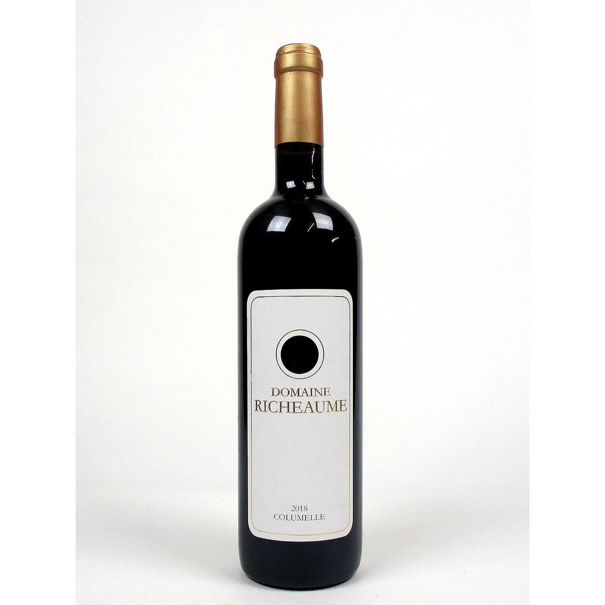 IGP Méditerranée: Domaine Richeaume 'Cuvée Columelle' 2018 - Bottle
