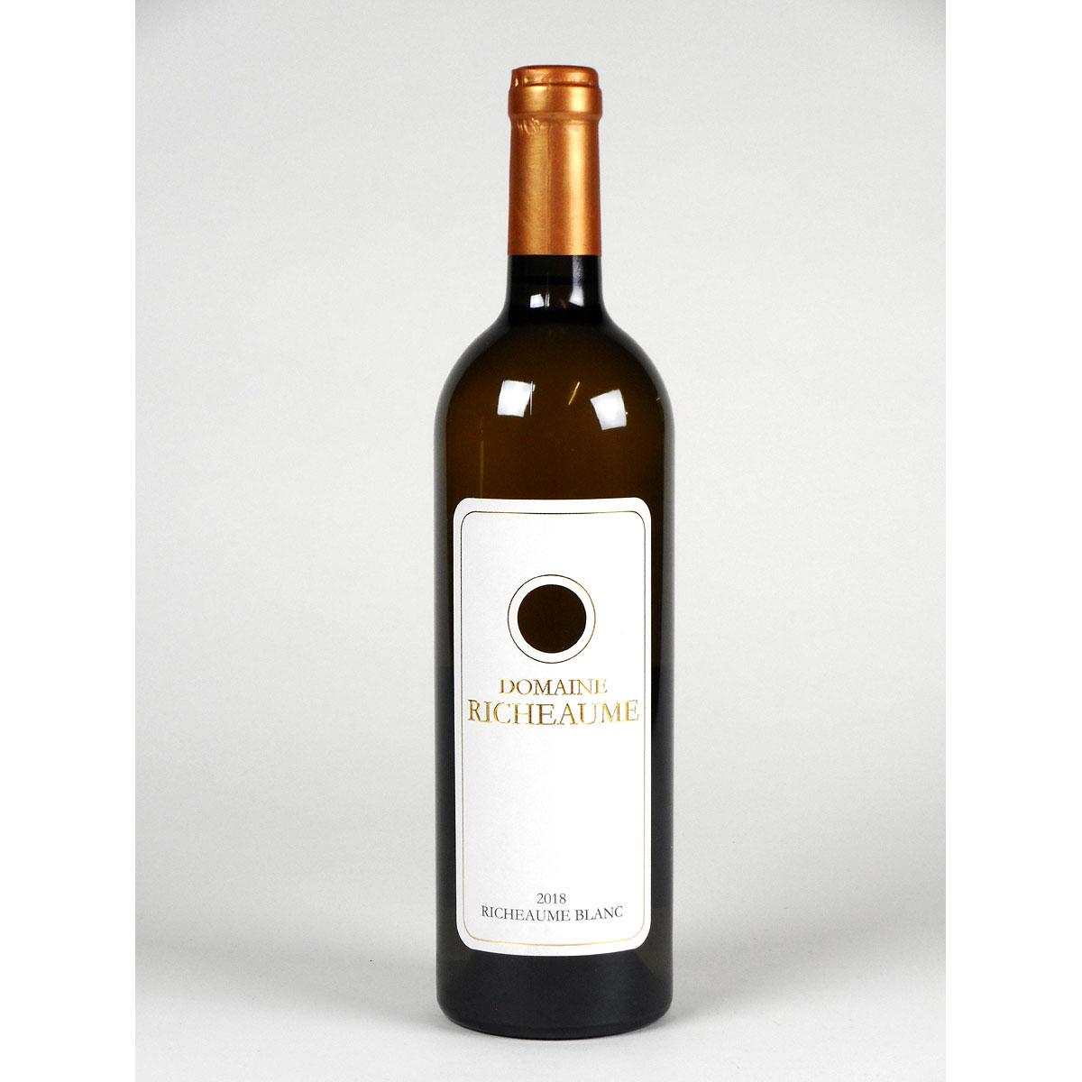 IGP Méditerranée: Domaine Richeaume 'Tradition' Blanc 2018 - Bottle