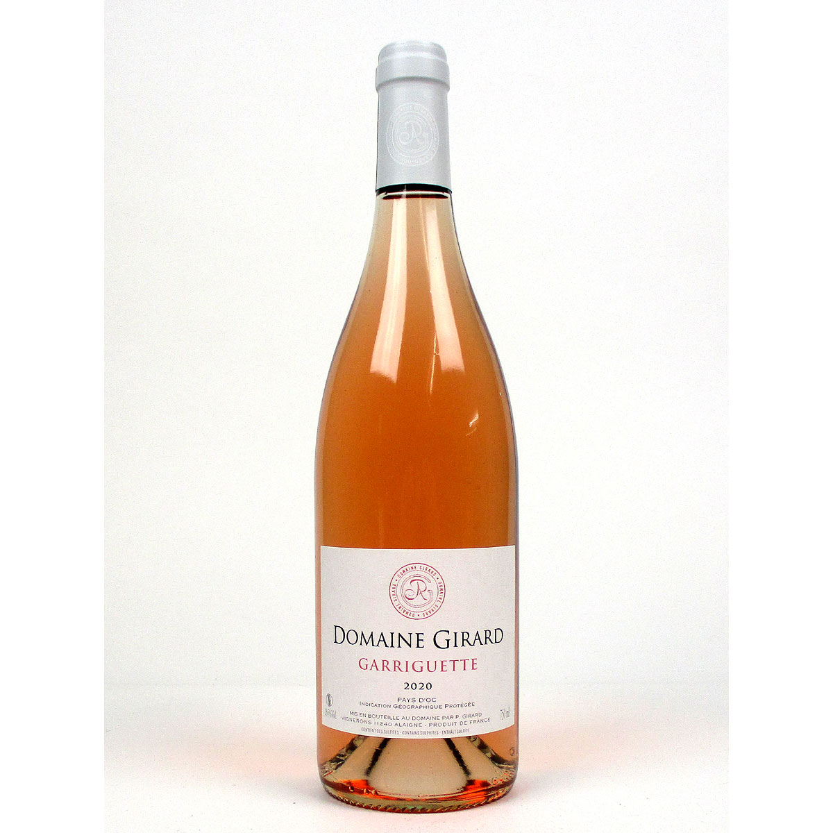 IGP Pays d'Oc: Domaine Girard 'Garriguette' Rosé 2020 - Bottle