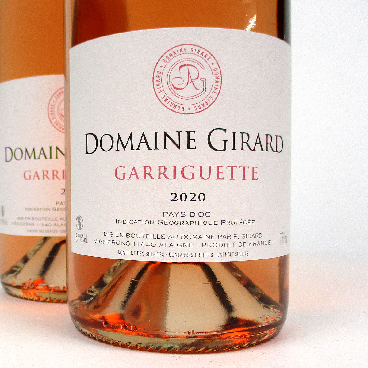 IGP Pays d'Oc: Domaine Girard 'Garriguette' Rosé 2020