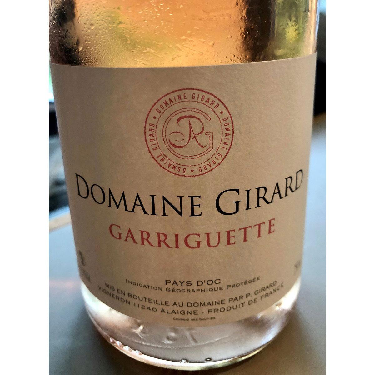 IGP Pays d'Oc: Domaine Girard 'Garriguette' Rosé 2020 - Lifestyle