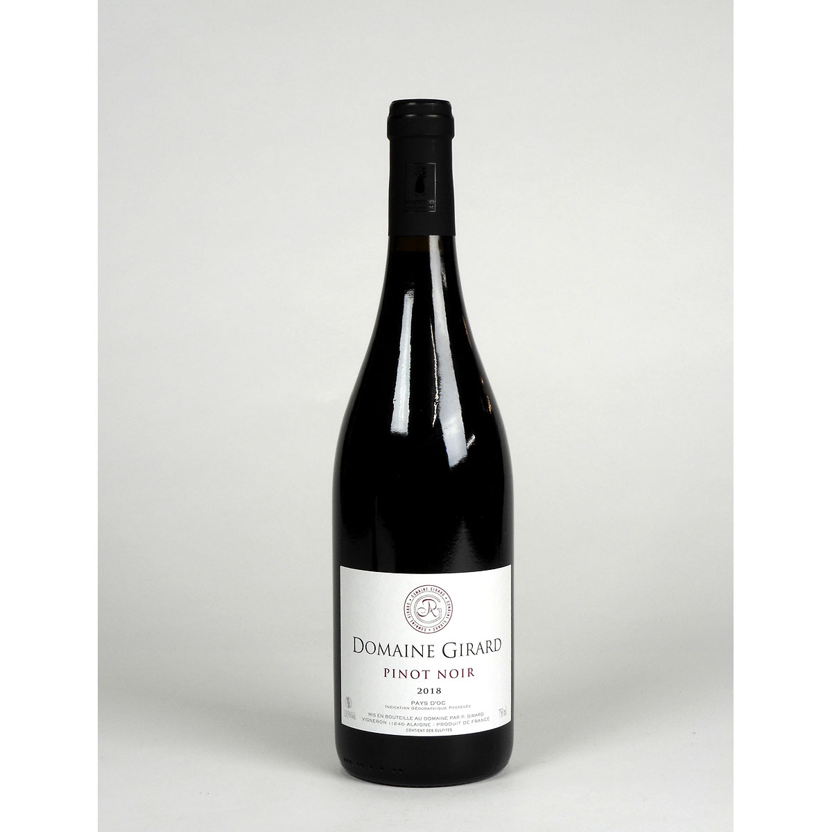 IGP Pays d'Oc: Domaine Girard Pinot Noir 2018 - Bottle