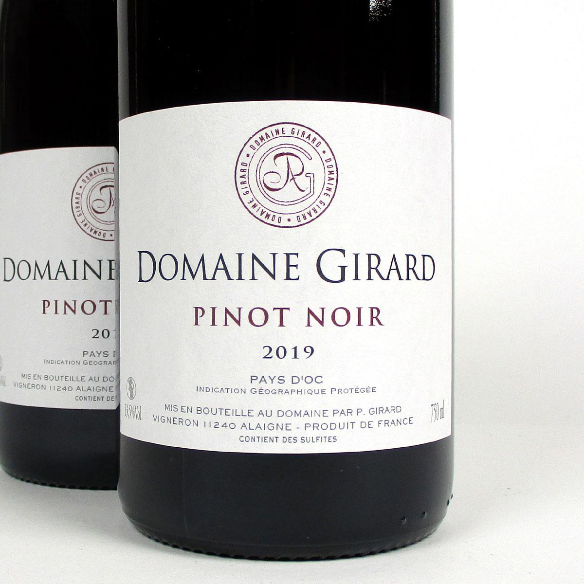 IGP Pays d'Oc: Domaine Girard Pinot Noir 2019