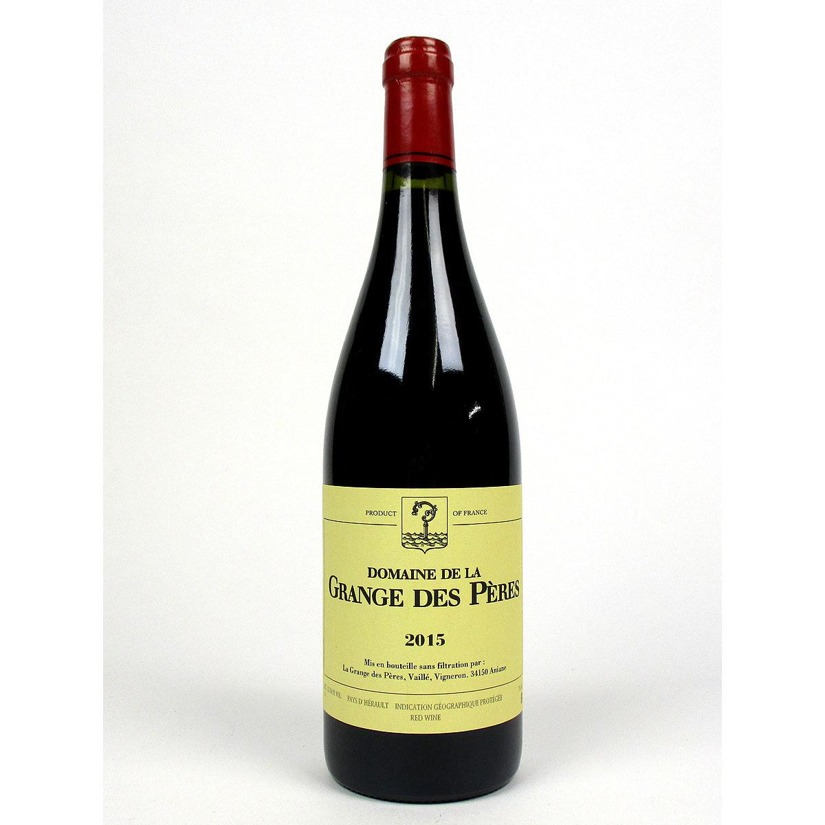 IGP Vin de Pays de l'Hérault: Domaine de La Grange des Pères 2015 - Bottle