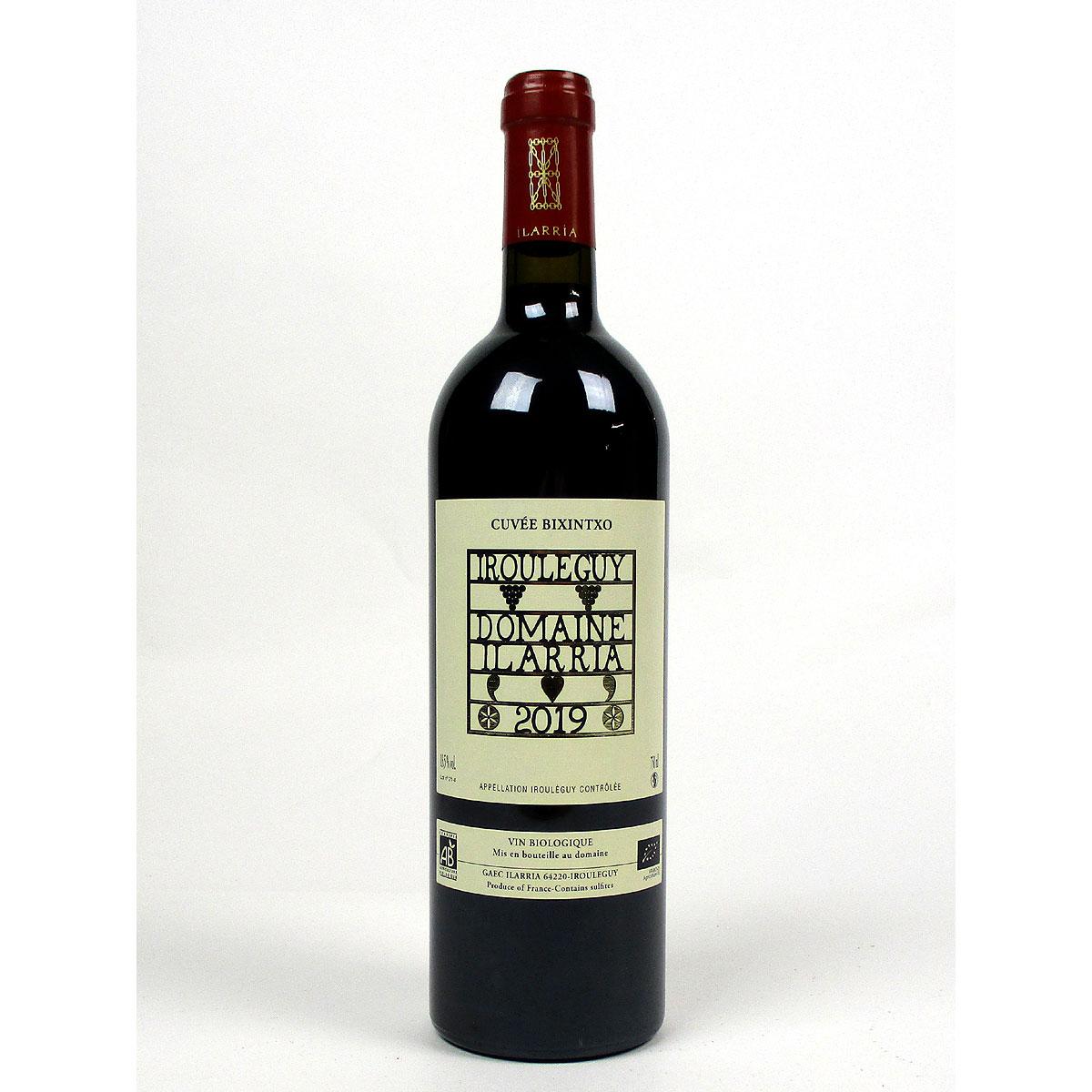 Irouléguy: Domaine Ilarria 'Cuvée Bixintxo' Rouge 2019  - Bottle