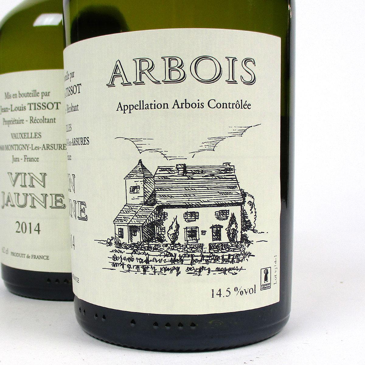Jura Arbois: Vin Jaune Domaine Jean-Louis Tissot 2014