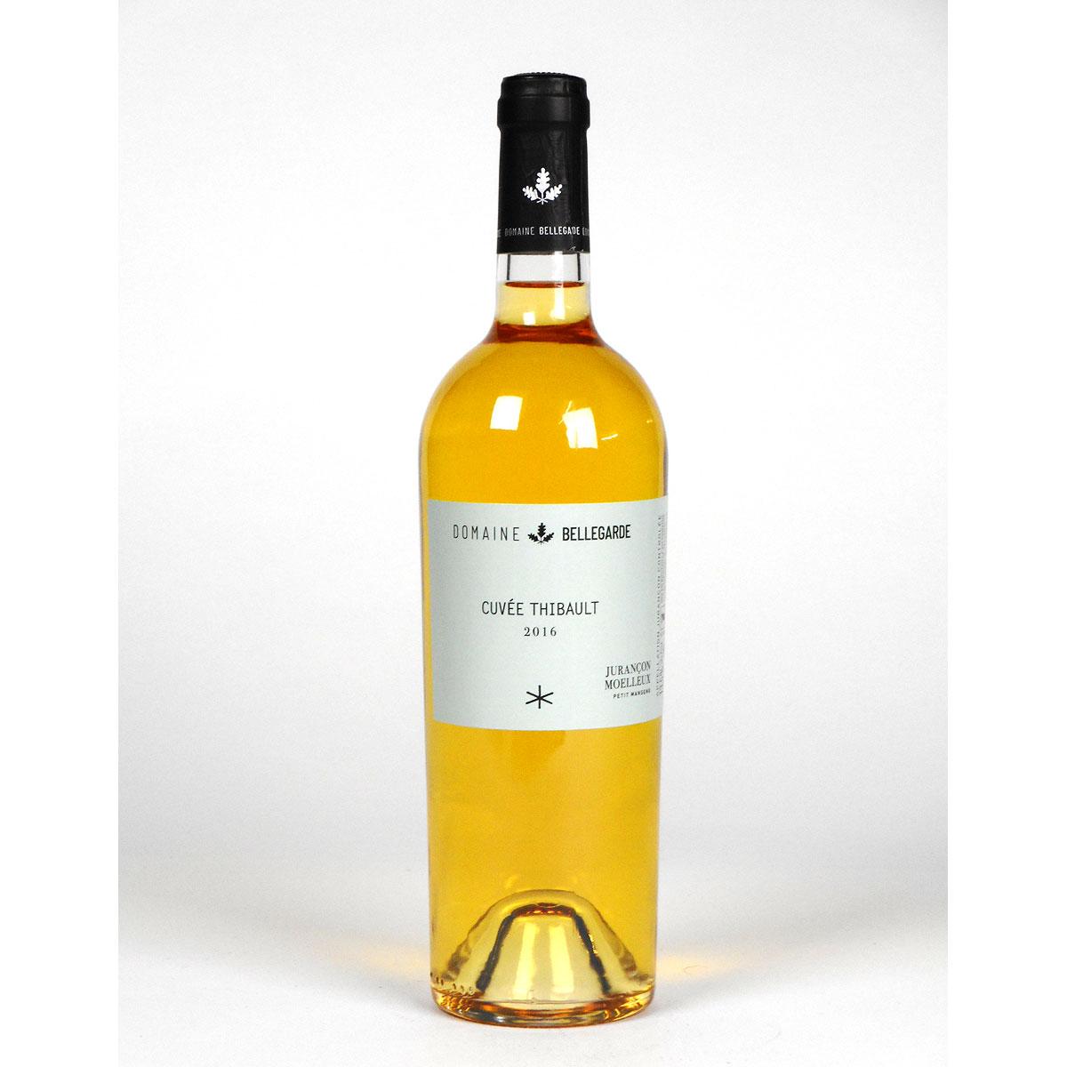 Jurançon Moelleux: Domaine Bellegarde 'Cuveé Thibault' 2016 - Wine Bottle