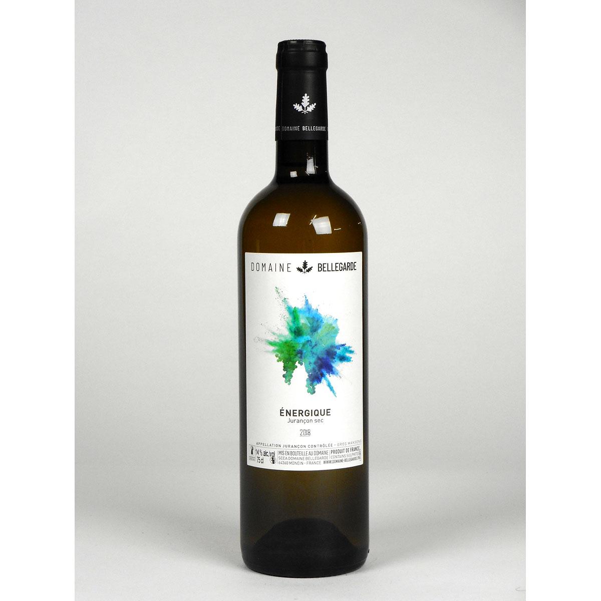 Jurançon Sec: Domaine Bellegarde 'Énergique' 2018 - Wine Bottle