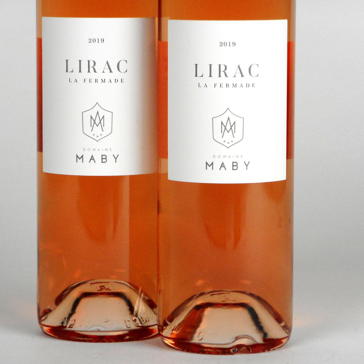 Lirac: Domaine Maby 'La Fermade' Rosé 2019