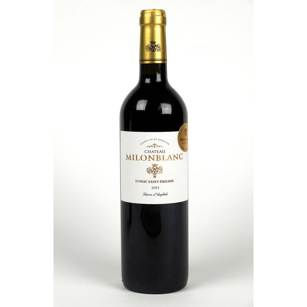 Lussac-Saint-Émilion: Château Milonblanc 2015 - Bottle