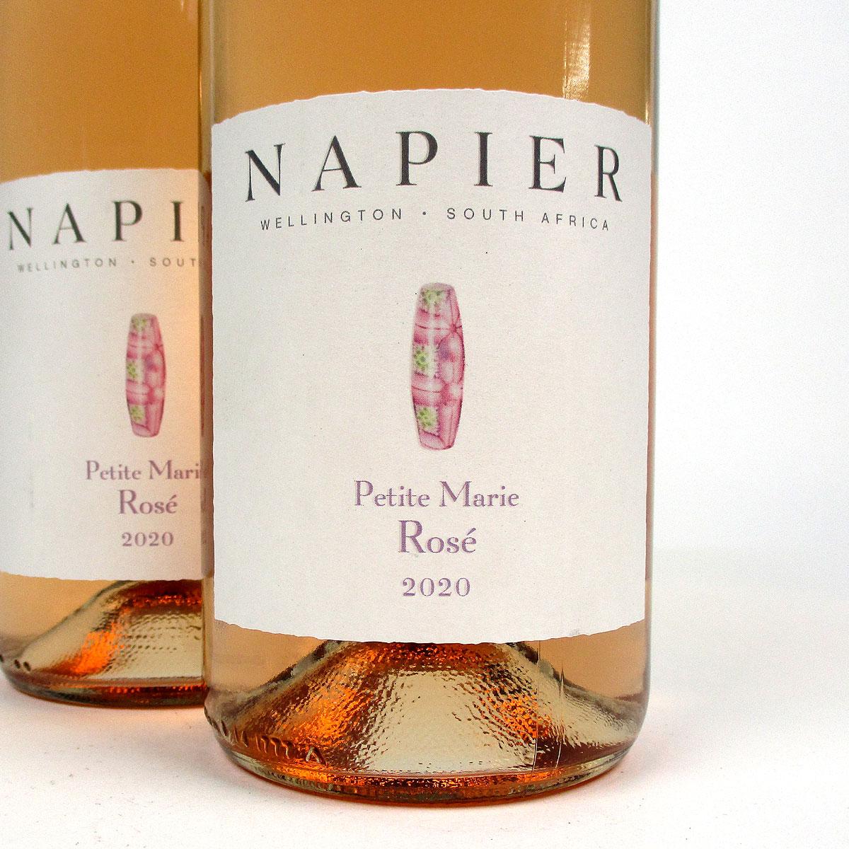 Napier Winery: 'Petite Marie' Rosé 2020