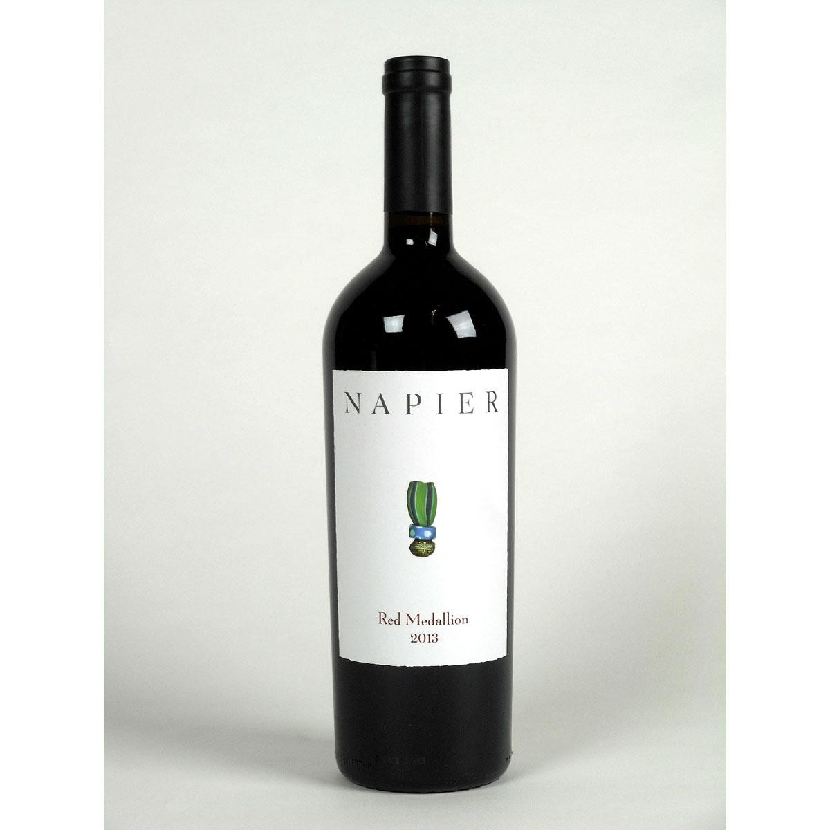 Napier Winery: 'Red Medallion' 2013 - Bottle