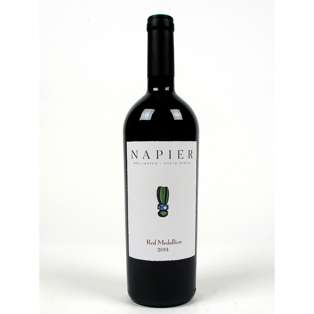 Napier Winery: 'Red Medallion' 2014 - Bottle
