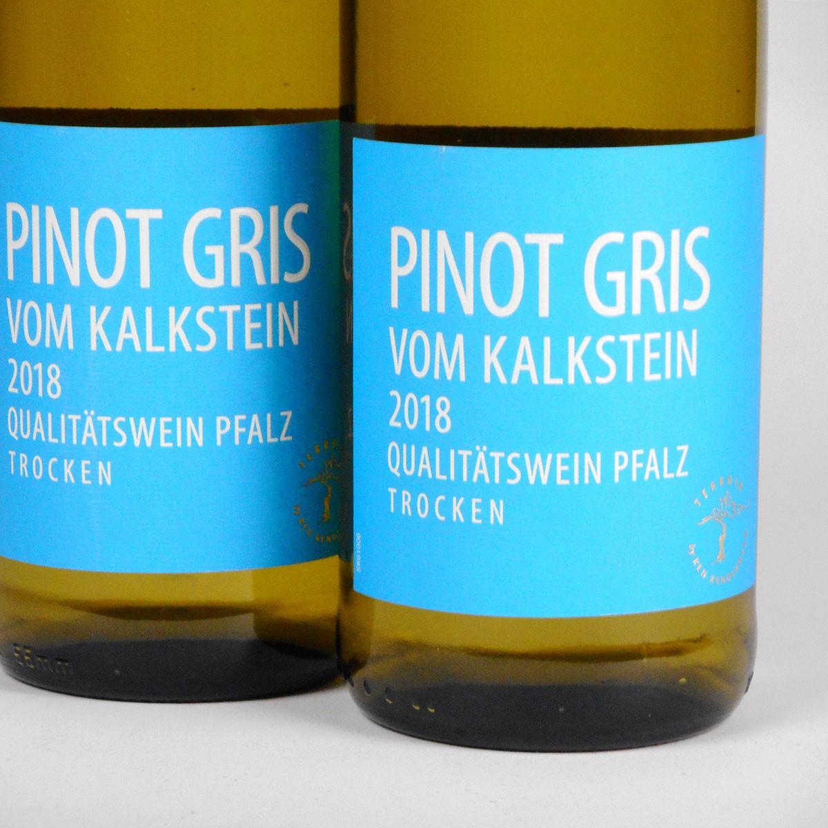 Pfalz: Pinot Gris vom Kalkstein 2018