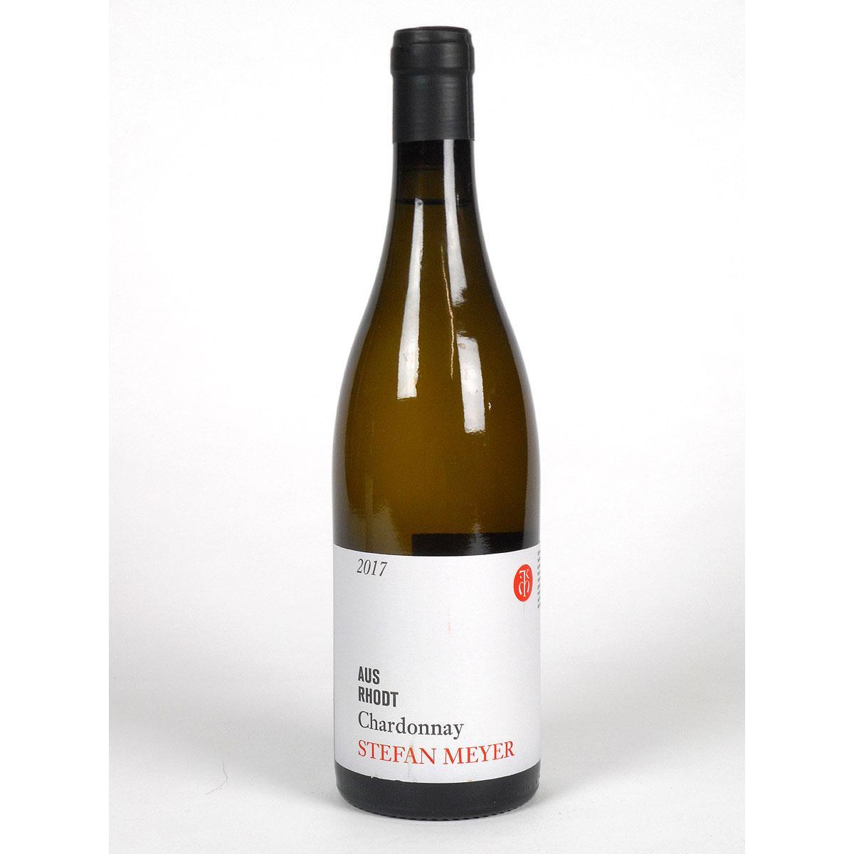 Pfalz: Stefan Meyer 'Aus Rhodt' Chardonnay 2017 - Bottle