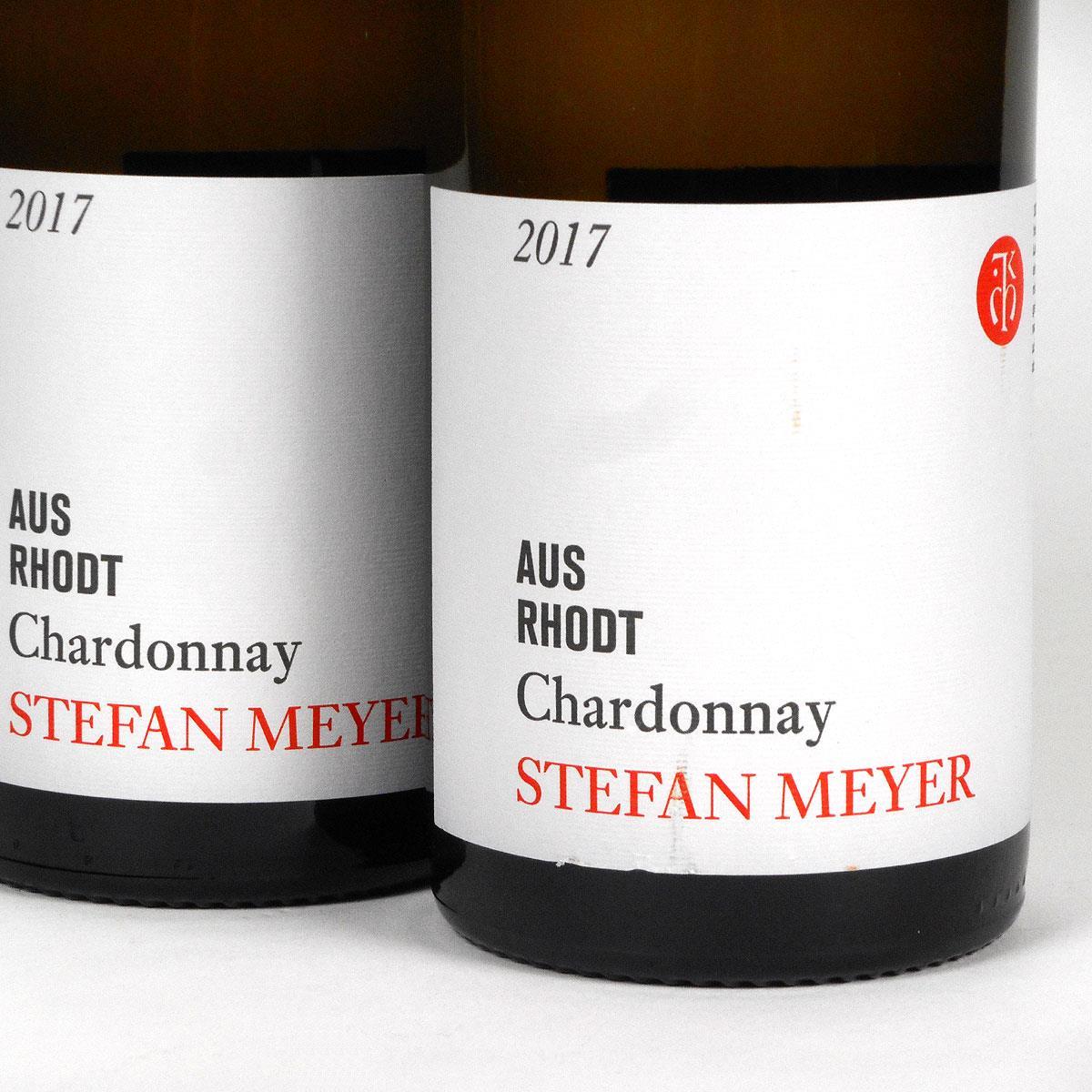 Pfalz: Stefan Meyer 'Aus Rhodt' Chardonnay 2017