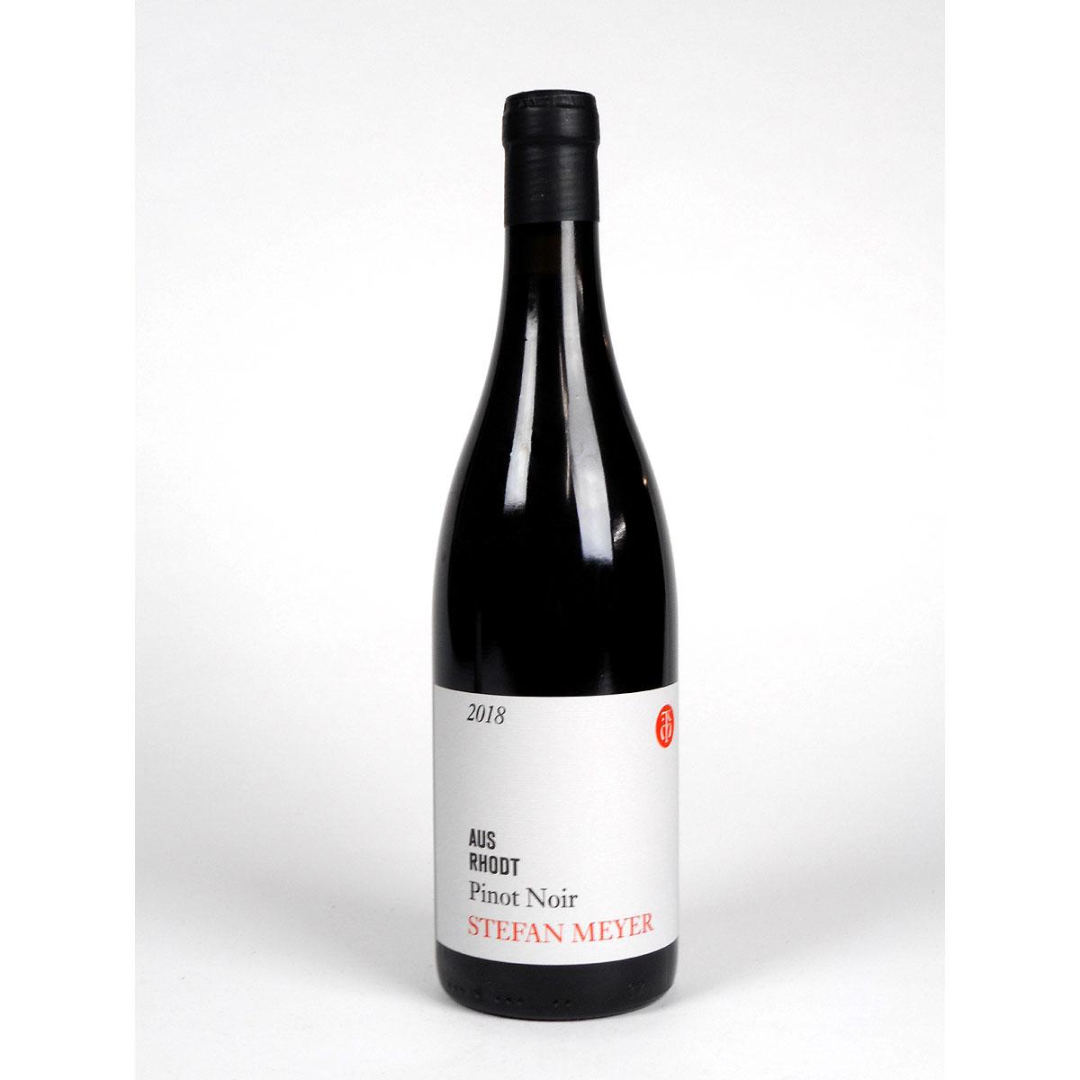 Pfalz: Stefan Meyer 'Aus Rhodt' Pinot Noir 2018 - Bottle