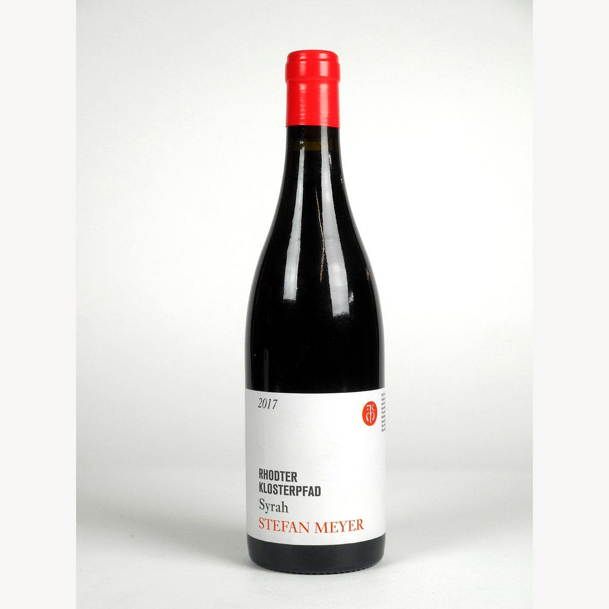 Pfalz: Stefan Meyer 'Rhodter Klosterpfad' Syrah 2017 - Bottle