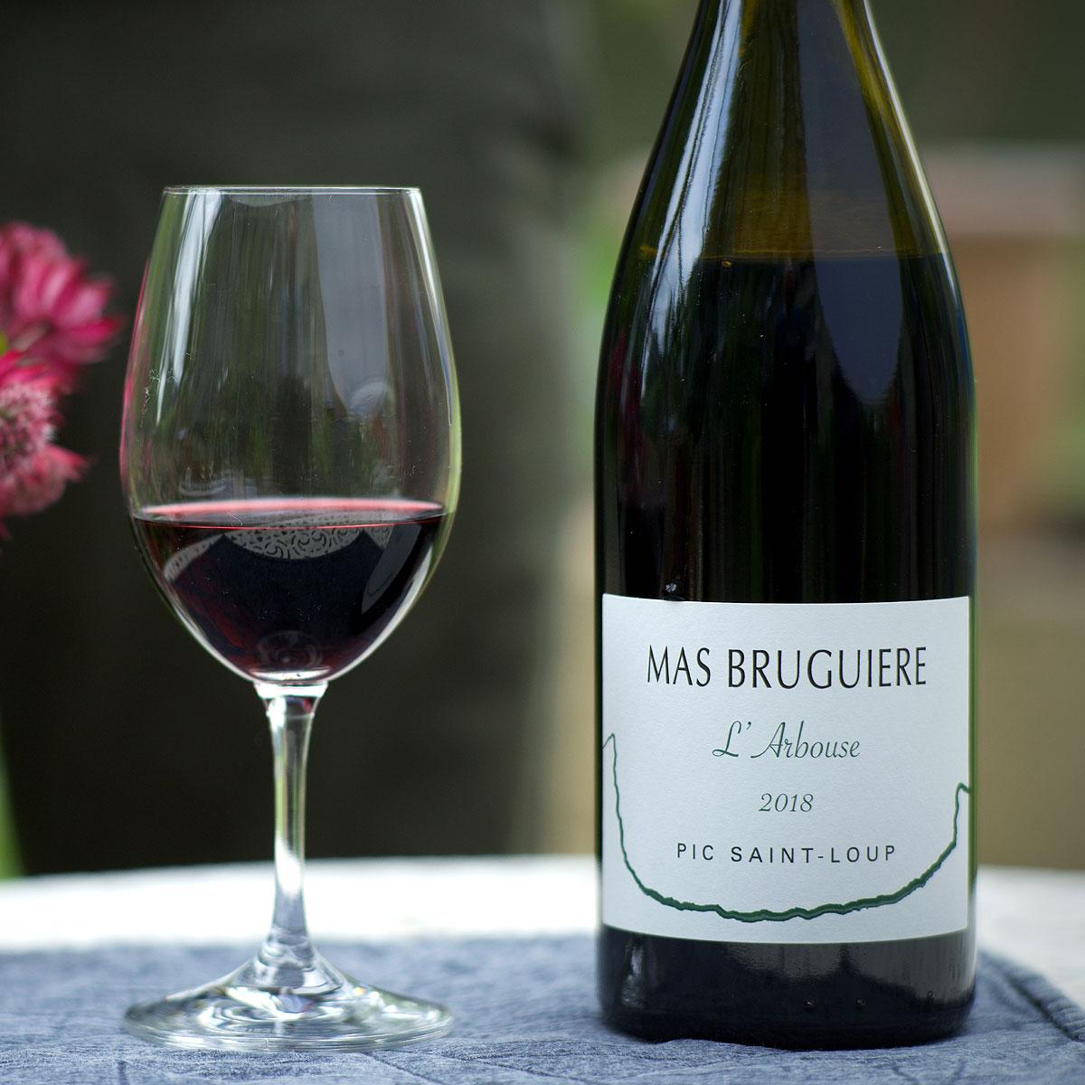 Pic Saint-Loup: Mas Bruguière 'l'Arbouse' 2018 - Lifestyle