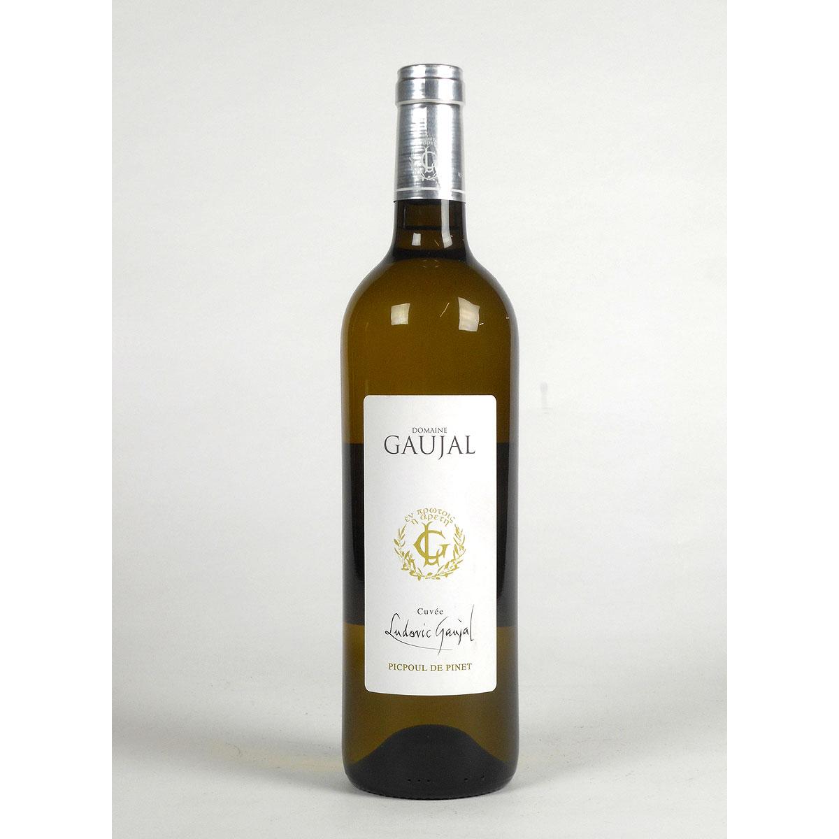 Picpoul de Pinet: Domaine Gaujal 2019 - Wine Bottle