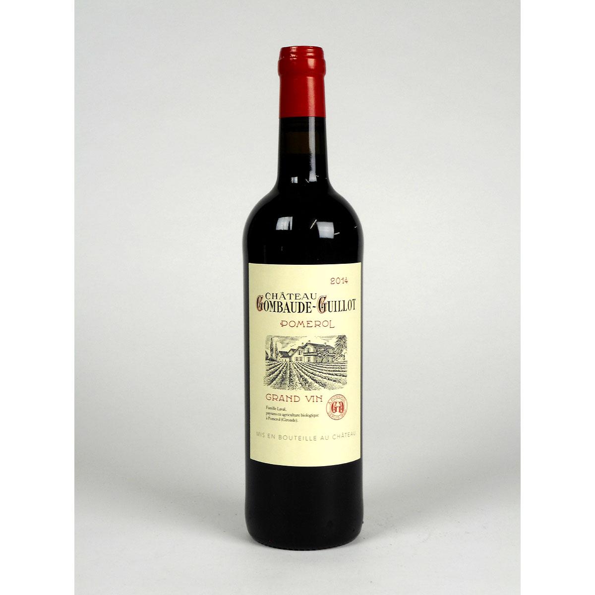 Pomerol: Château Gombaude-Guillot 2014 - Bottle