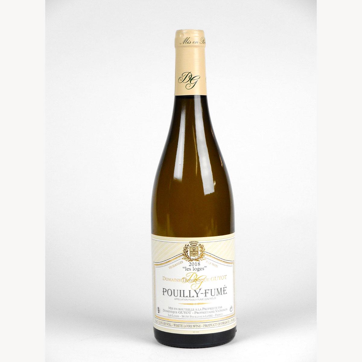 Pouilly-Fumé: Domaine Dominique Guyot 'Les Loges' 2018 - Bottle