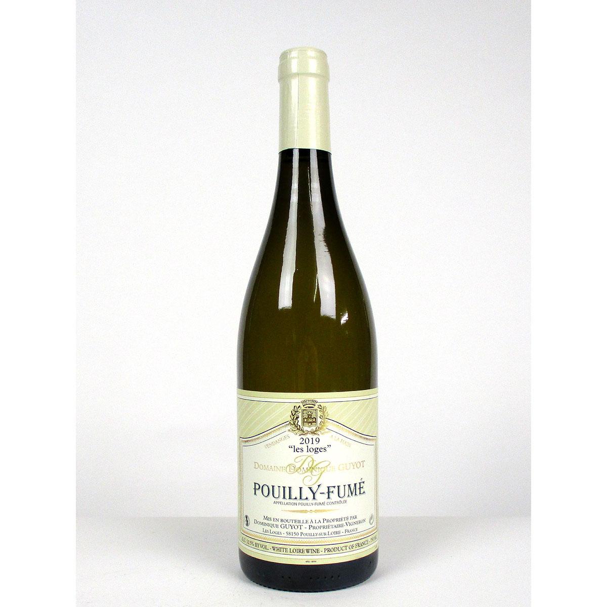 Pouilly-Fumé: Domaine Dominique Guyot 'Les Loges' 2019 - Bottle